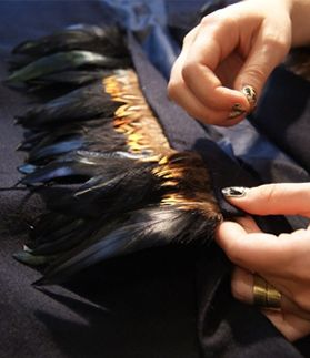 Do it yourself feather trim love me some feathers if i could do it yourself feather trim love me some feathers solutioingenieria Images