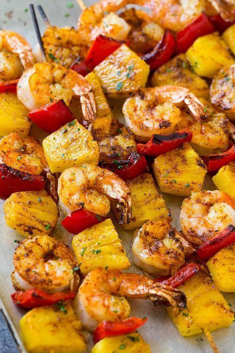 Fire up the grill on Good Friday and make these irresistible jerk shrimp kabobs.  #recipe #food #ideas #easter #holiday #dinner #brunch #lunch #inspiration #goodfriday #grillingrecipes #jerkshrimp Fire up the grill on Good Friday and make these irresistible jerk shrimp kabobs.  #recipe #food #ideas #easter #holiday #dinner #brunch #lunch #inspiration #goodfriday #grillingrecipes #jerkshrimp