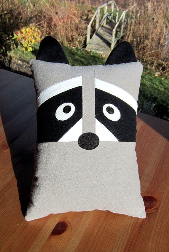 Sintió Fox & mapache almohada juguete patrón PDF por MyFunnyBuddy ...
