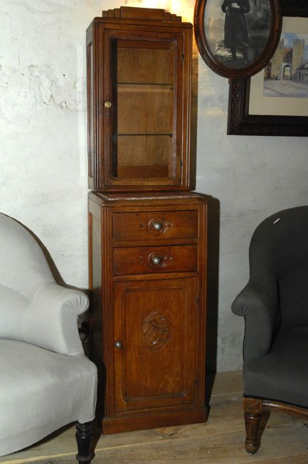 adorable meuble ann es 30 et sa vitrine http www