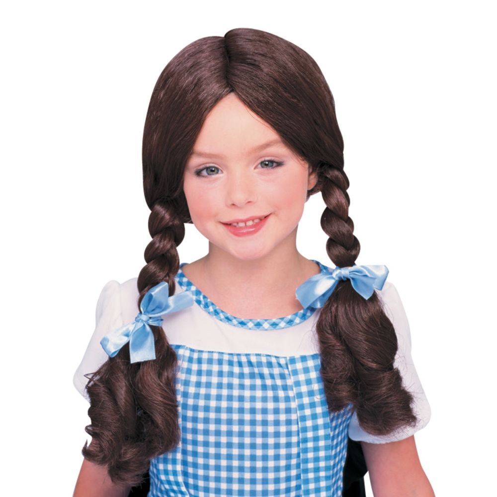 Wizard Of Oz Dorothy Wig Oriental Trading In 2020 Dorothy Costume Dorothy Wizard Of Oz Dorothy Halloween Costume