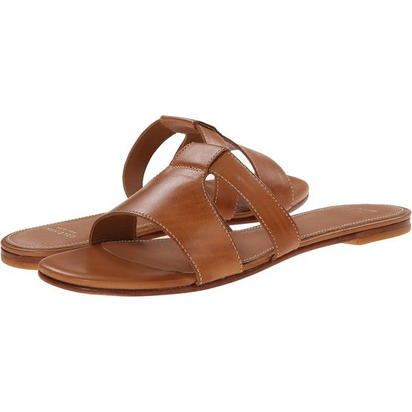 Cole Haan Mesi Sandal Women's Sandals, Brown ($105) ❤ liked on Polyvore