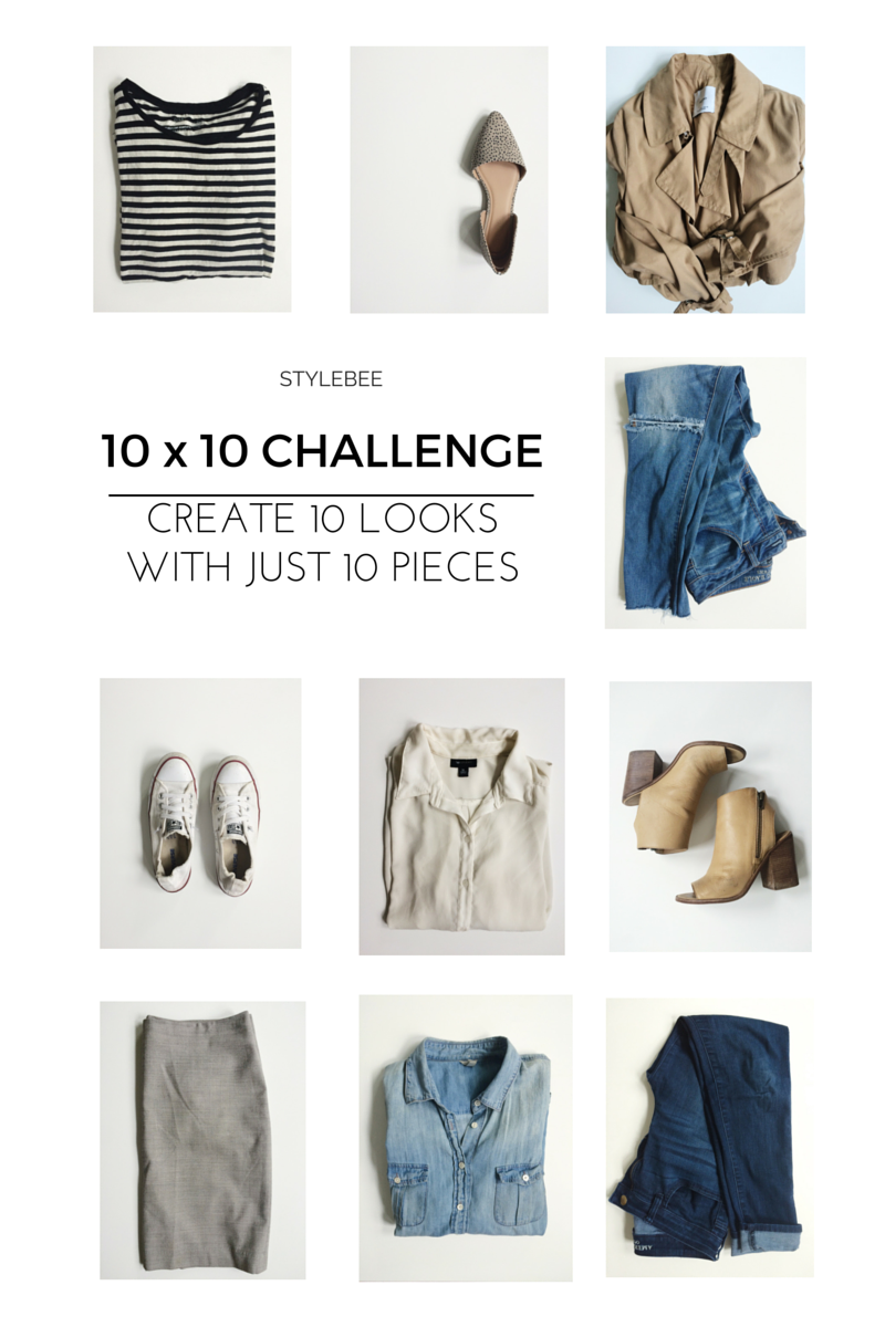 10 X 10 Spring Challenge Pieces The Lovely Laura Life My Capsule Wardrobes With Images Capsule Wardrobe Fashion Capsule Spring Capsule Wardrobe