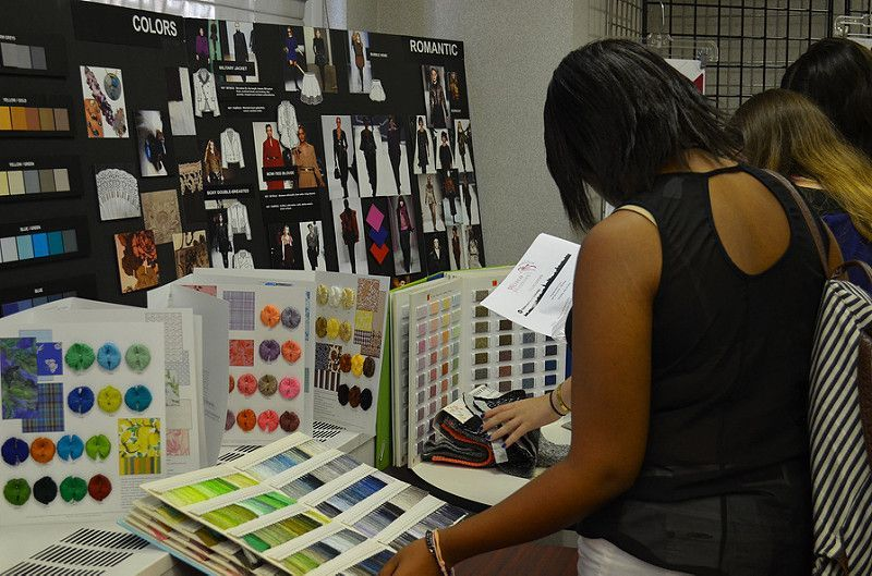 In the ins and outs of fashion merchandising part of the