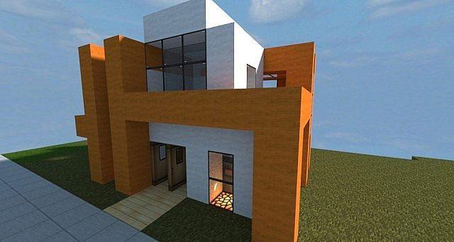 Small Modern House Minecraft Project Nerd Alert Minecraft