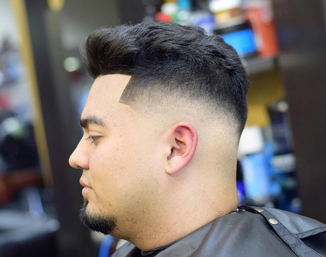 Hairstyles For Chubby Men