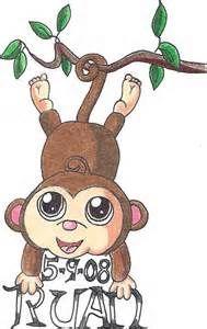 842a8fe9f Cute Monkey Tattoos - Bing Images   Tattoos   Monkey tattoos ...