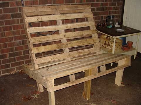 Delicious DIY Furniture  Furniture Pallet chair and Pallet wood