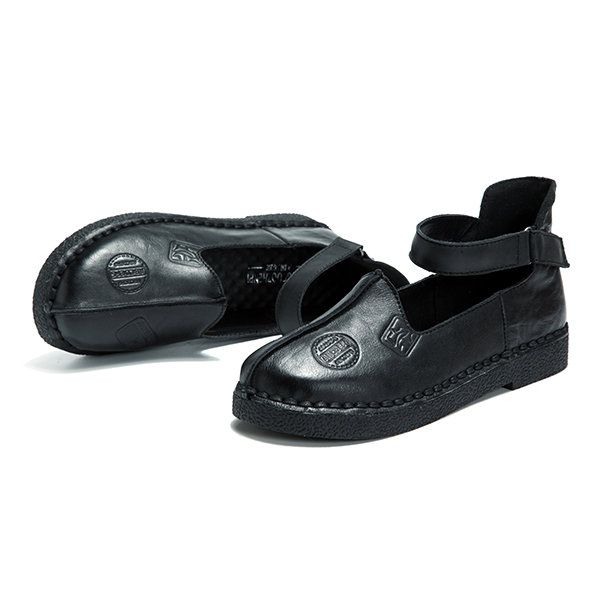 Socofy Confortables Chaussures Plates Sooo Rétro Doux GgxD4G2Yg