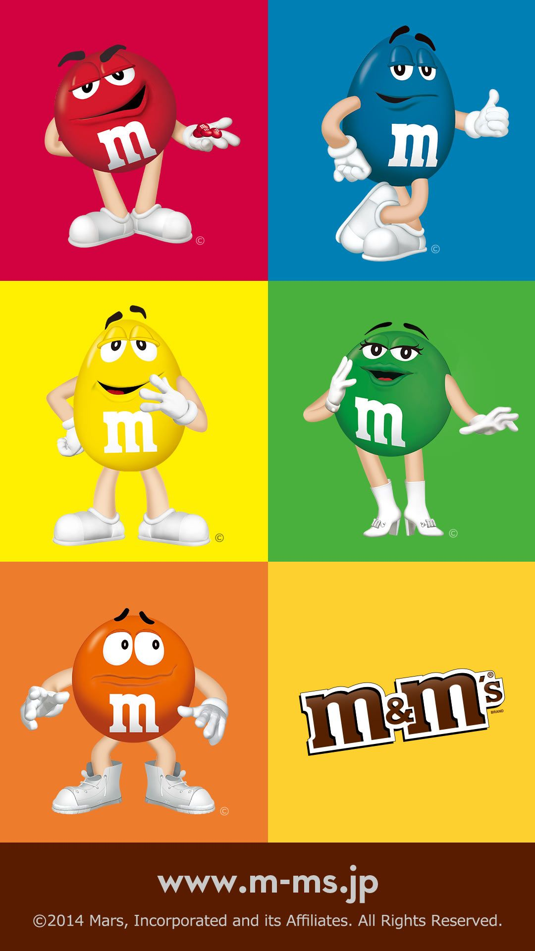 M M Characters M M Characters Character Wallpaper Candy Logo