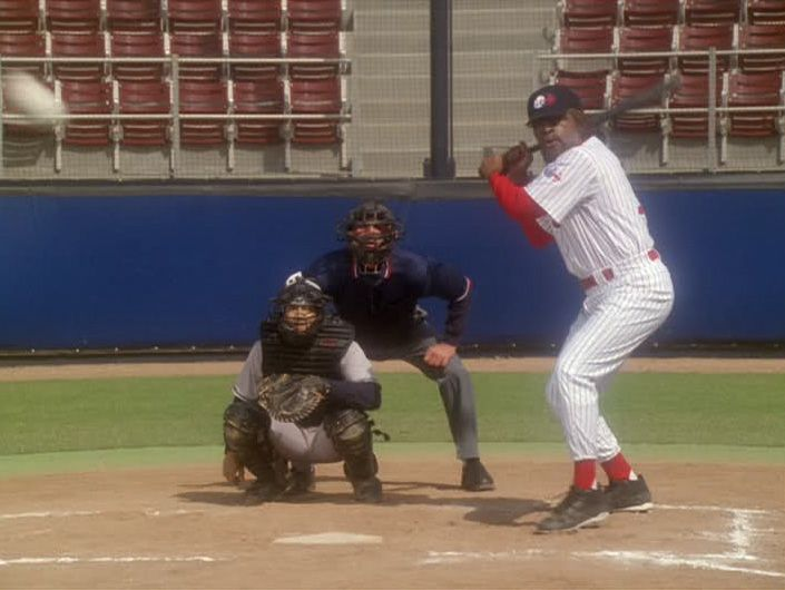 Worf should have hit at LEAST one HR vs the Vulcan Logicians (I know it was supposed to be a 1 run moral victory but c'mon!) - Star Trek DS9 Take Me Out To The Holosuite