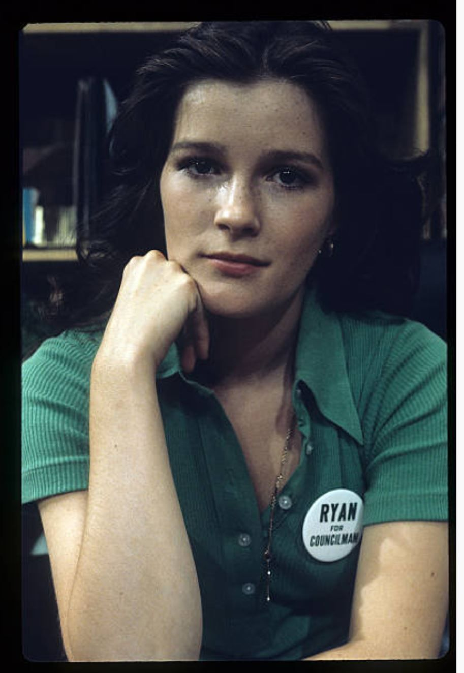 Kate Mulgrew when she played Mary Ryan on Ryan's Hope