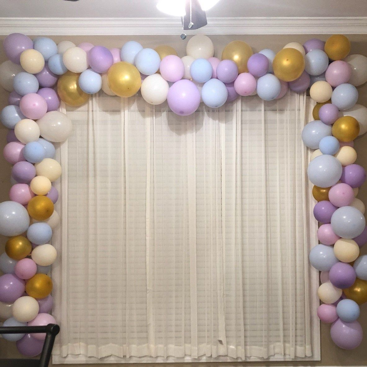20' Balloon Garland DIY Kit Cotton Candy Dream Etsy