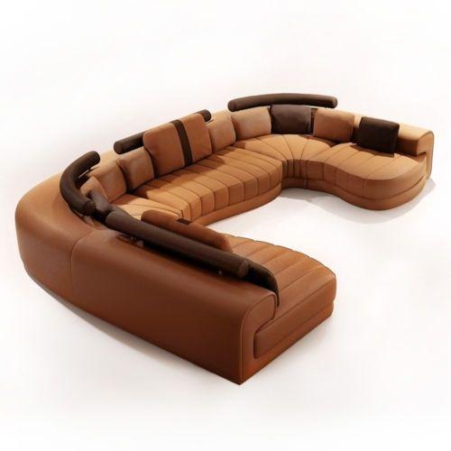 Polstersofa Baroni Eckcouch Garnitur Wohnlandschaft Echtleder Teilleder Ecksofa Sofa Seats Furniture Chair