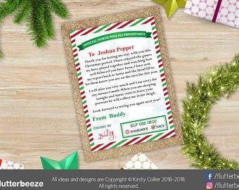 Departure Leaving Letter for your Elf - Goodbye Letter From Elf #elfgoodbyeletter