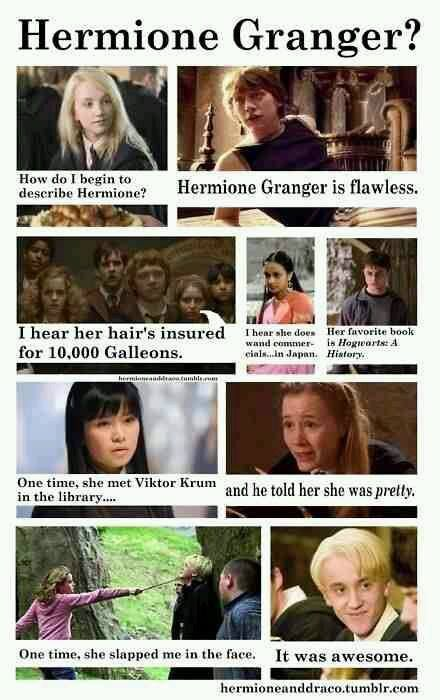 Hermione Granger Harry Potter Memes Harry Potter Funny Harry Potter Quotes