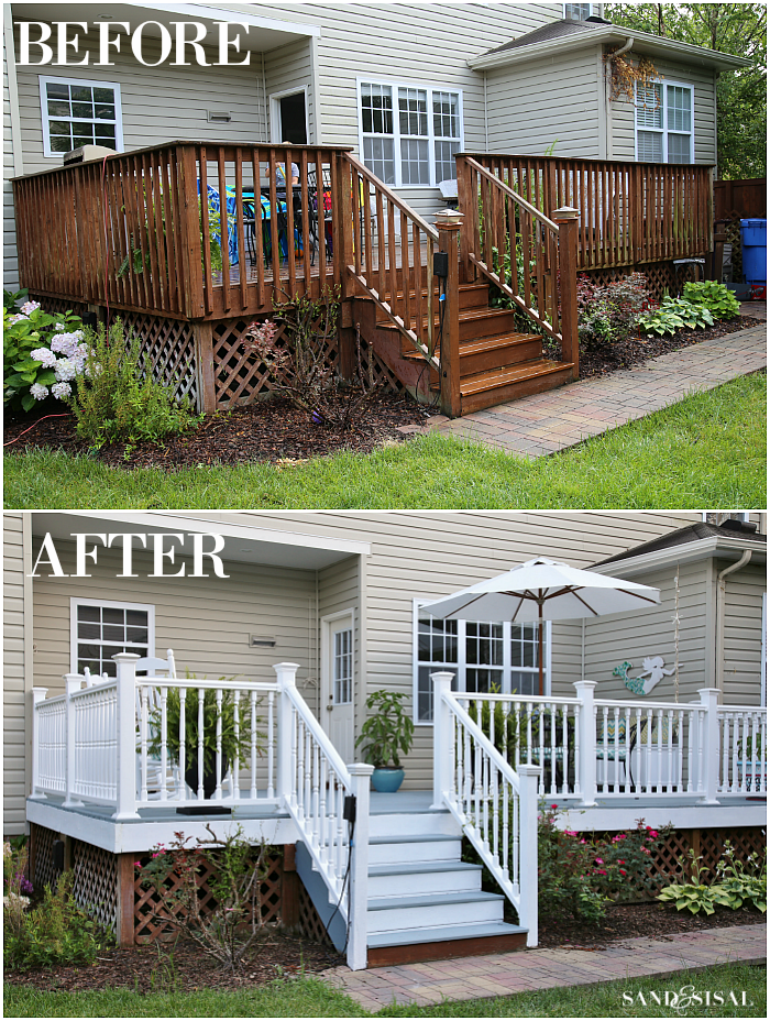 Inexpensive Deck Skirting Ideas