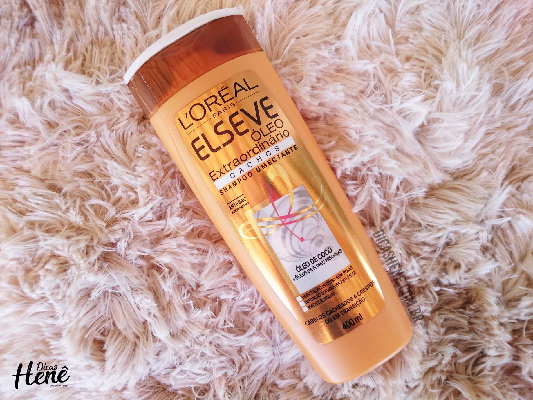 2f5996828 Resenha Henezada: Shampoo e Condicionador Óleo Extraordinário Cachos –  Elseve | Blog Dicas Henê –