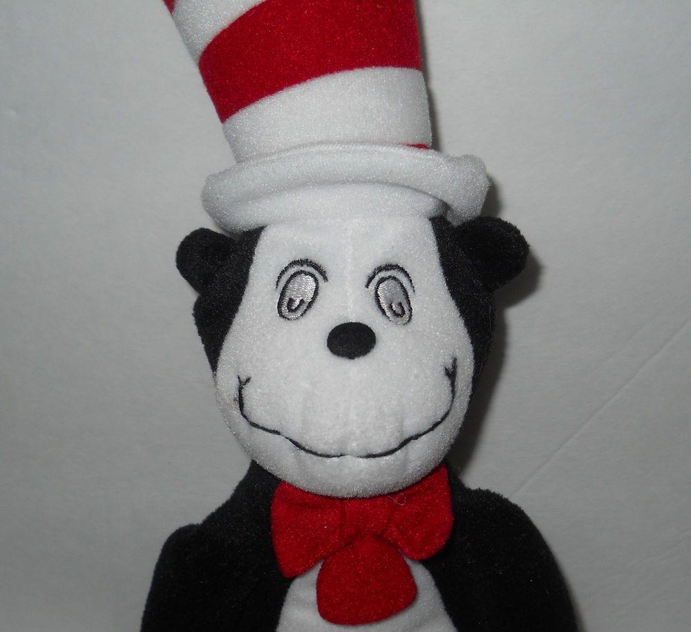 Seuss Cat in the Hat Plush 14 Dr Seuss Cat in the Hat Plush Universal Studios 14 Dr