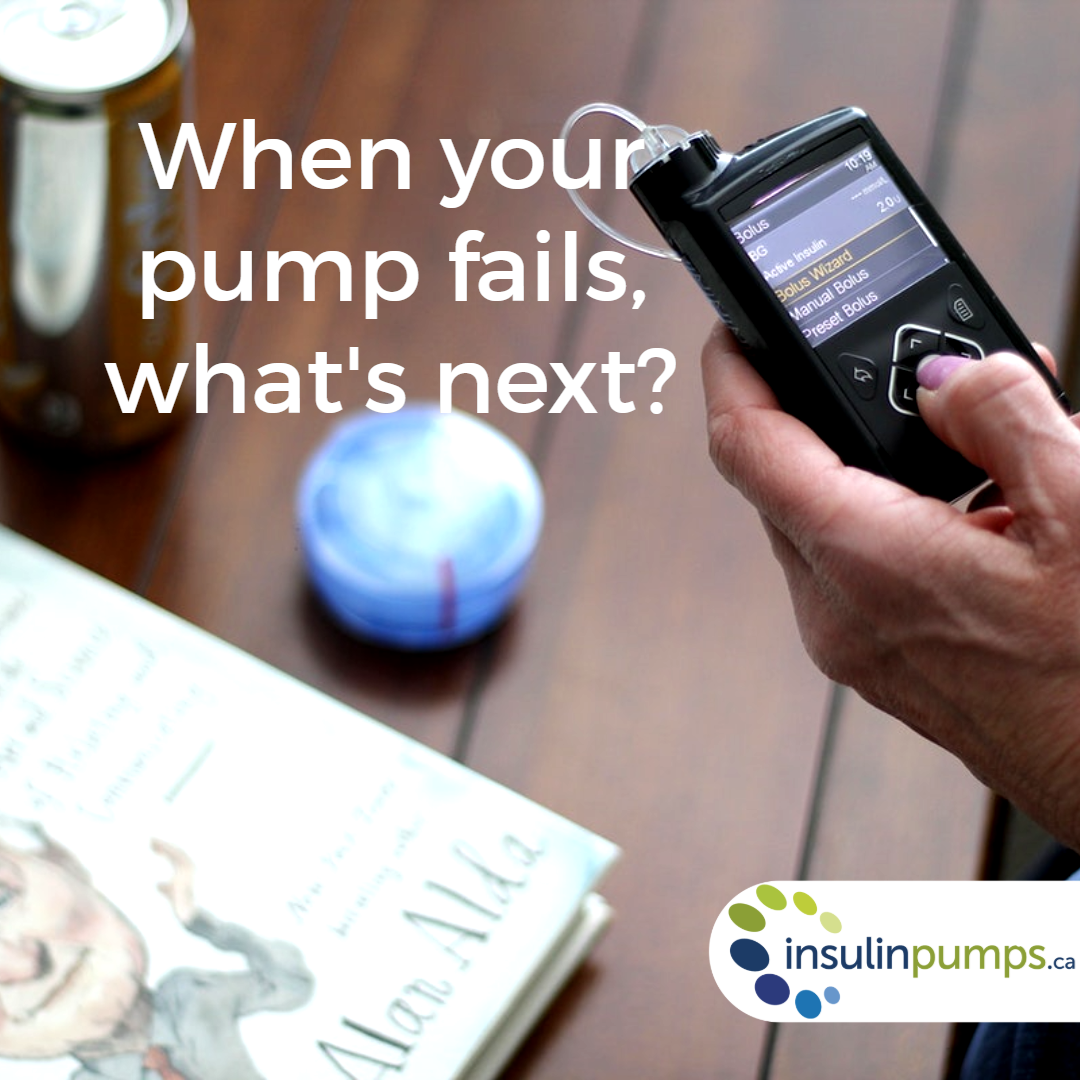 What should I do if my pump fails? Insulin pump, How to plan