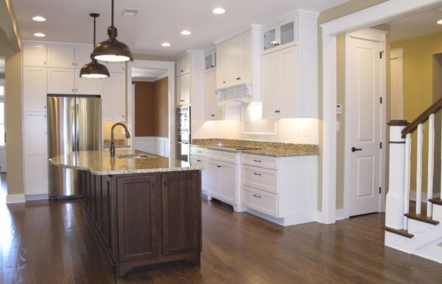 Kitchen in the Summerlake by The Lewes Building Company ...