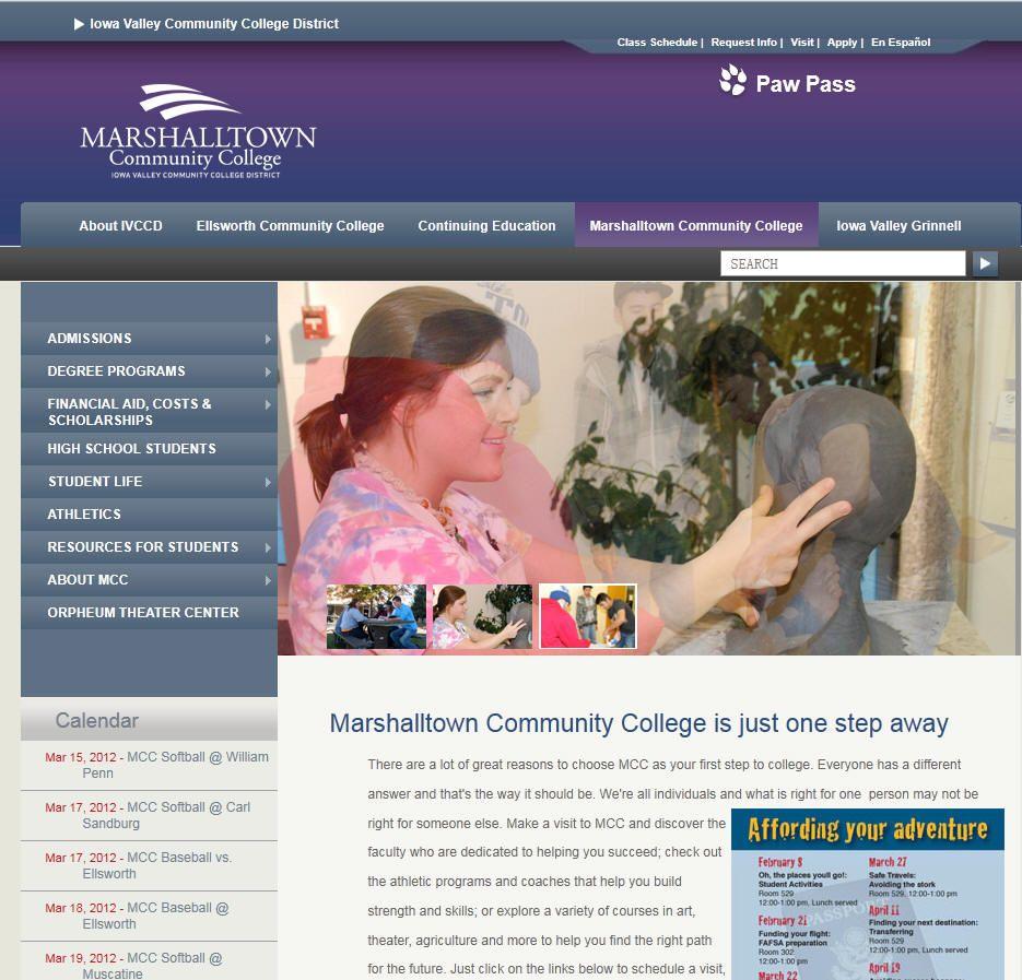 Marshalltown community college community college