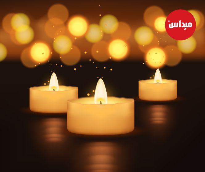 الشموع من الإكسسوارات الرائعة التي يمكنك استغلالها في تزيين المنزل بطريقة مبتكرة كونها تبعث الهدوء والسكينة ت Tea Light Candle Tea Lights Candlelight
