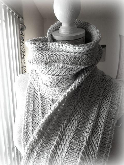 Ravelry Tunisian Ripple Scarf Pattern By Regina Weiss Crochet