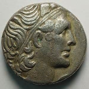 Image detail for -Egypt Cleopatra VII Tetradrachm Alexandria Pafos yr 13th 40 39 VF ...