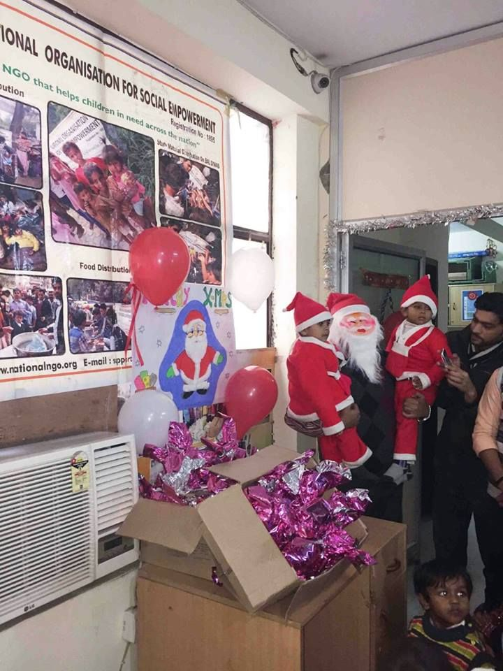 #Nationalngo Celebrating  Christmas with our cutie-pies