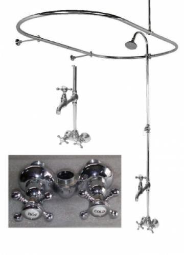 Clawfoot Tub Shower Tub Shower Conversion Kit Clawfoot Tub Feet