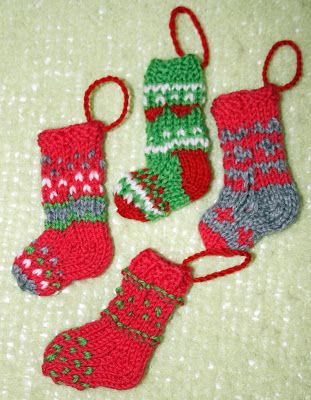 Tiny Christmas stockings