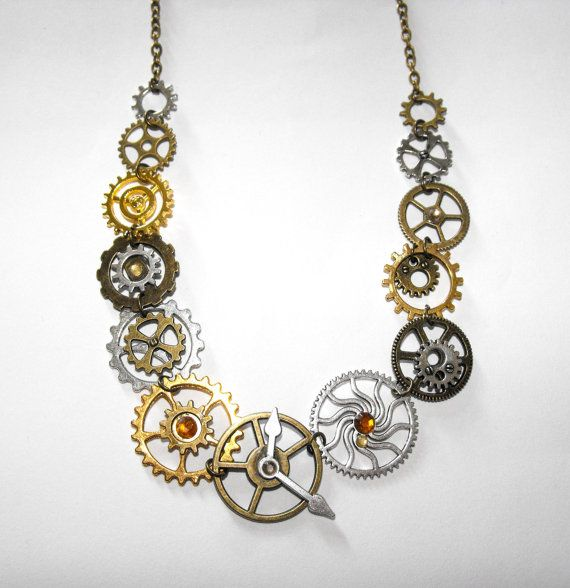 Gears & Cogs Necklace.