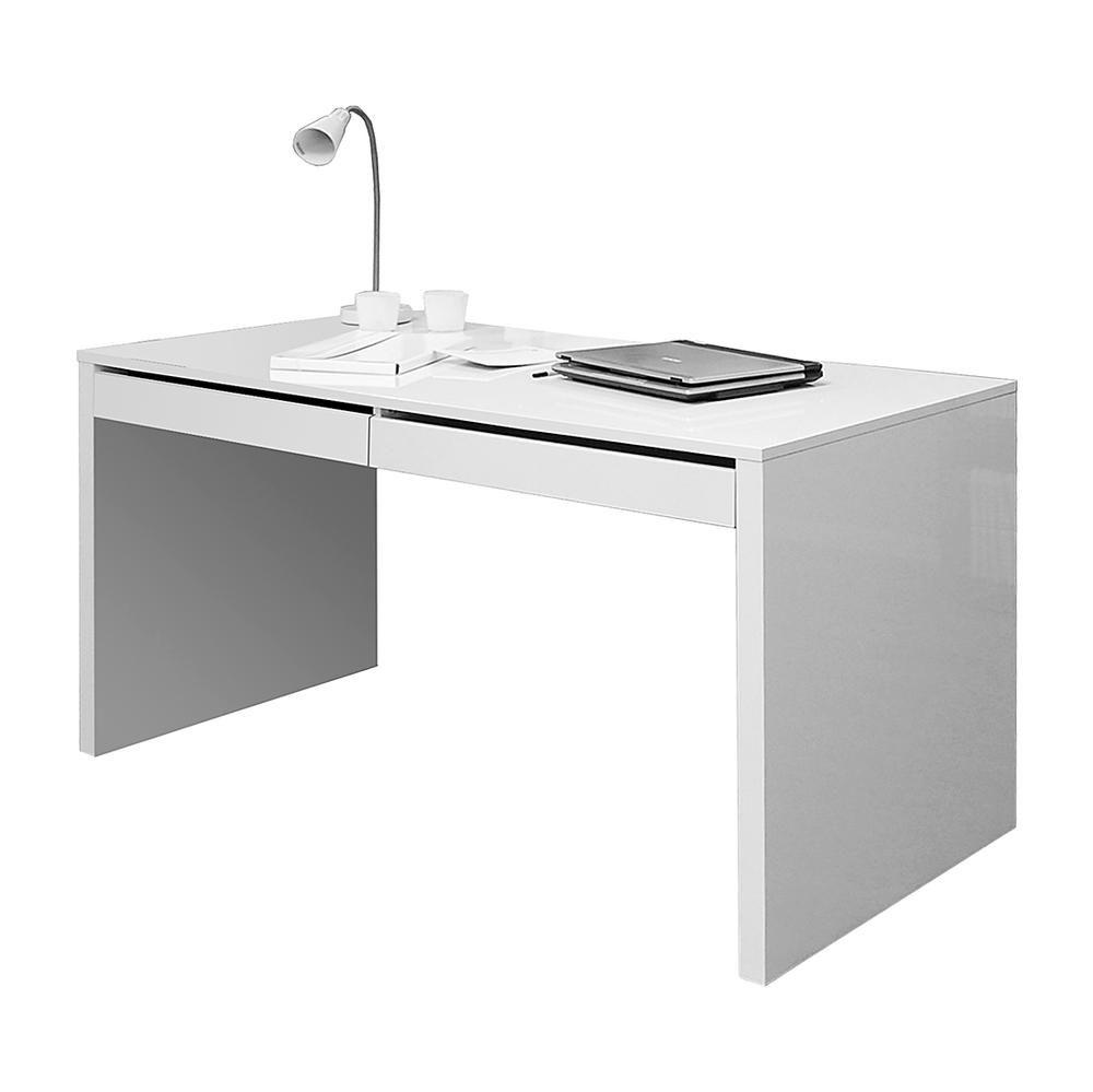 Marvelous Genial Schreibtisch Modern Weiß Great Pictures