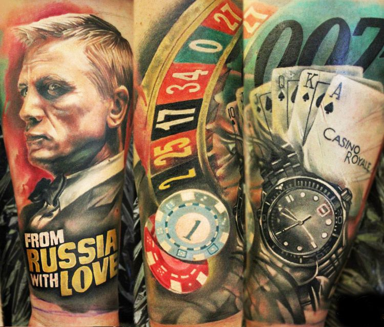 casino royale tattoo