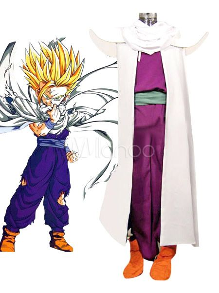 Dragon Ball Z Goku Black Cosplay Costume Anime Dress Up Fancy Outfit Mens Grey