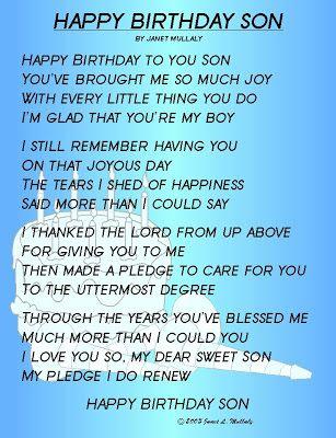 Son Birthday In Heaven Happy Birthday Heaven Son Quotes Happy