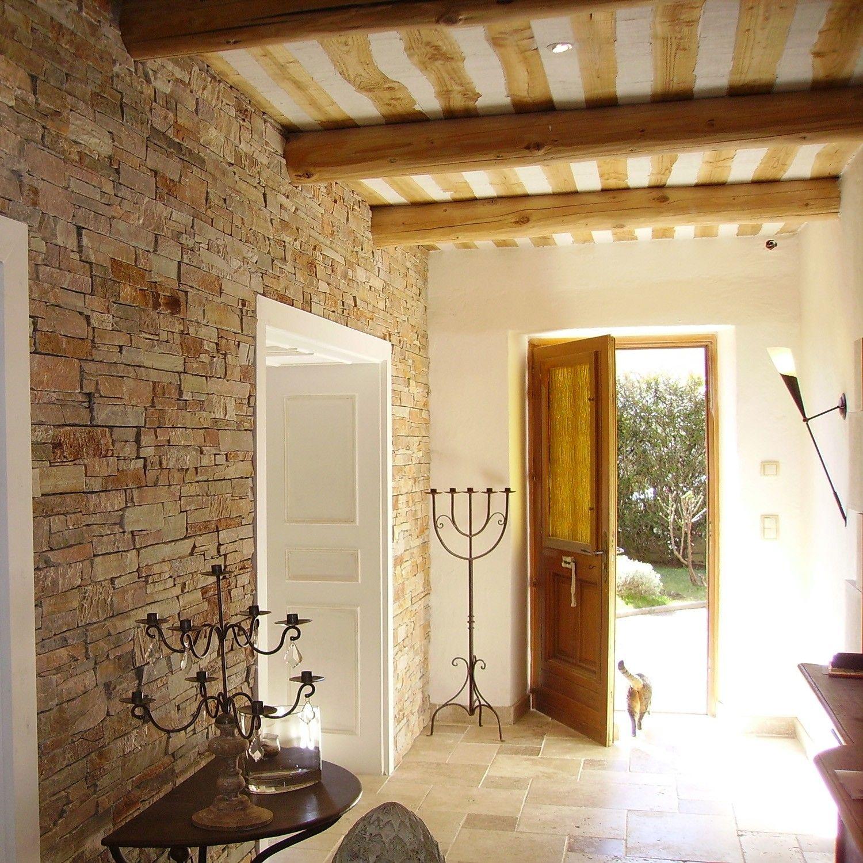 organisation décoration interieur maison pierre | carrelage | Pinterest