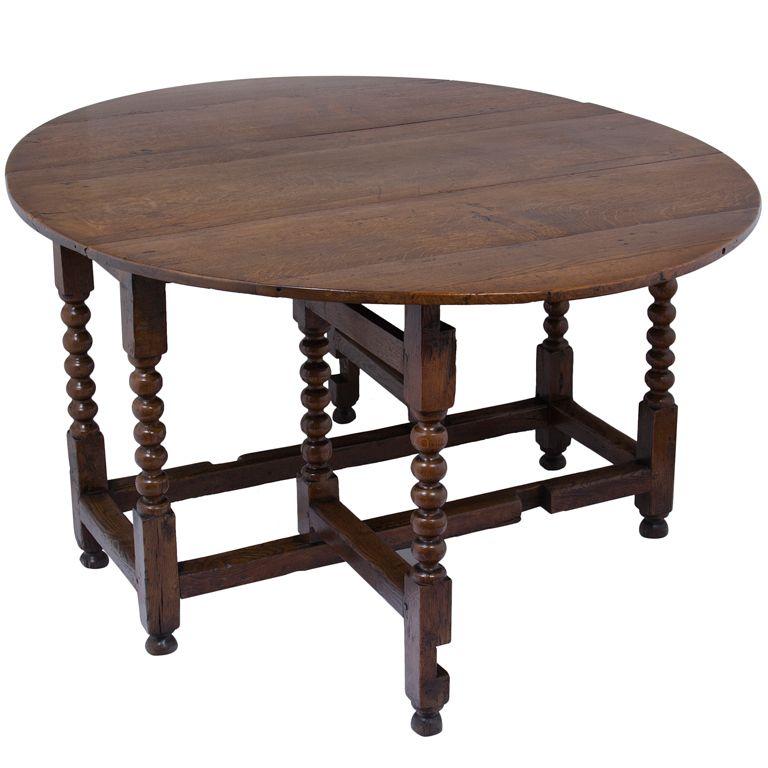 English Gate Leg Table