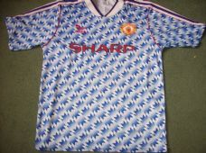 superior quality 66933 cfa27 1990 1992 Manchester United Adults Medium Classic Football ...
