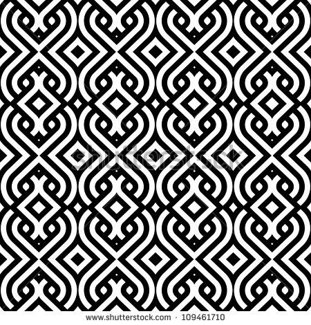 abstract vintage geometric wallpaper pattern seamless background ...