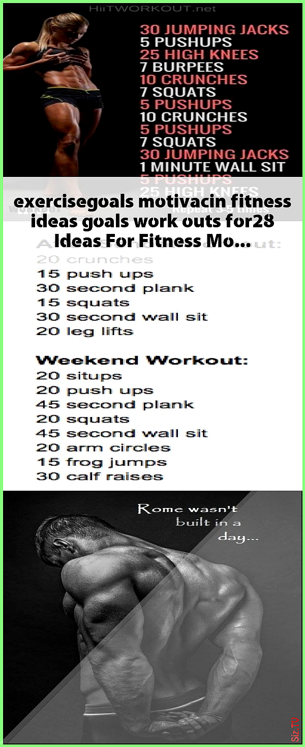 exercisegoals motivacin fitness ideas goals work outs for28 Ideas For Fitness Motivacin Goals Work O...