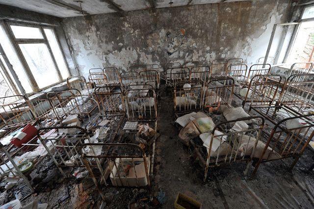 Pripyat, la ciudad fantasma - beQbe