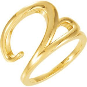 14kt Yellow Ladies Ring