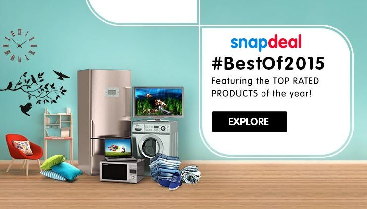 Best Of 2015 Featuring The Top Rated Products of the Year http://goosedeals.com/home/details/snapdeal/112015.html