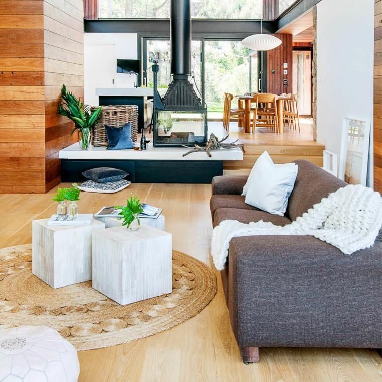 Maison pierre et acier de style contemporain en Australie House - maison en bois et en pierre