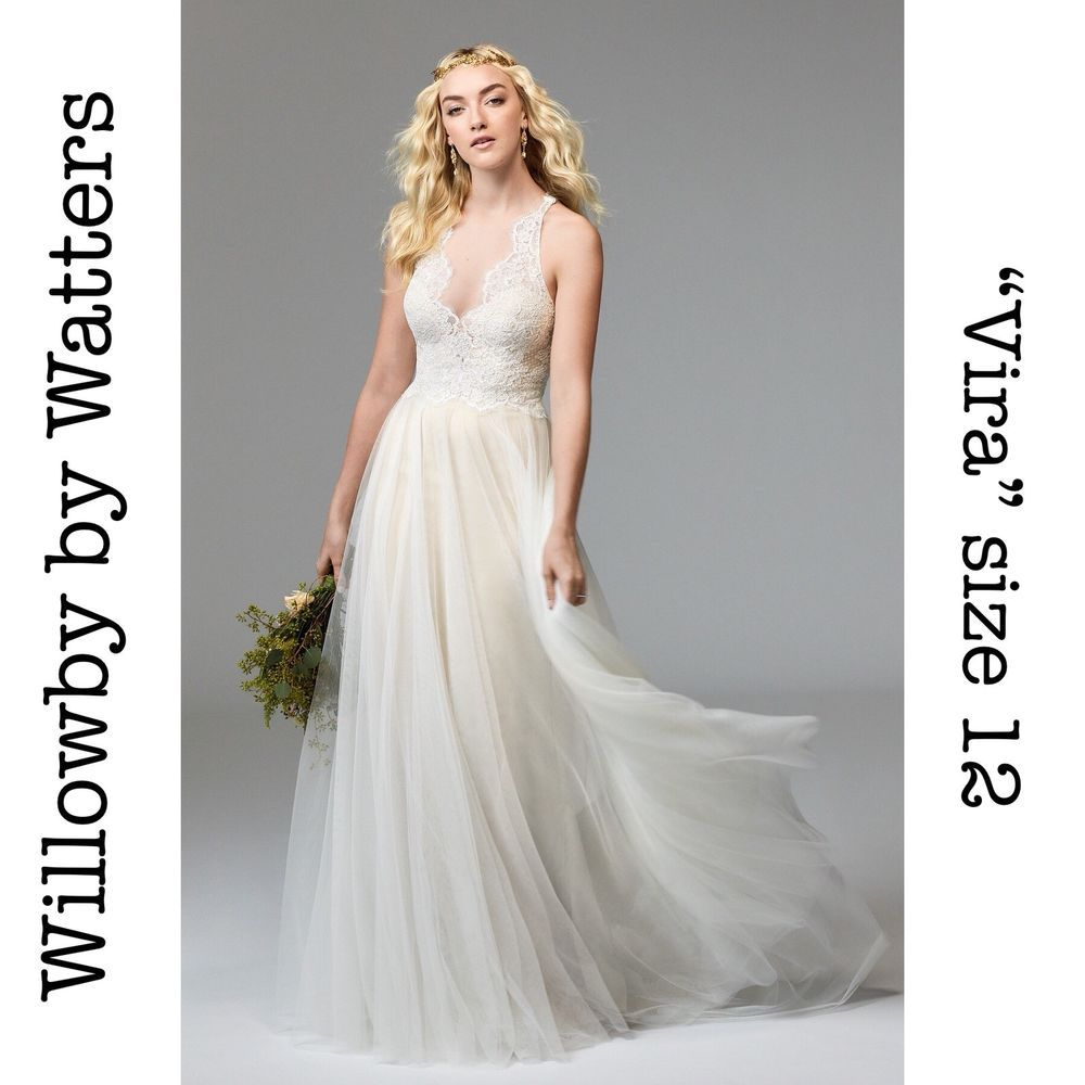 Willowby wedding dresses  NWOT Willowby wedding dress UNALTERED  Think Weddings  Pinterest