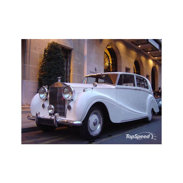 1947-1959 Rolls-Royce Silver Wraith - Top Speed ❤ liked on Polyvore