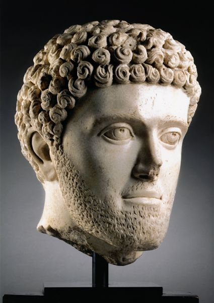 Example Of Male Roman Hairstyle Roman Hairstyles Ancient Rome Greek Statue