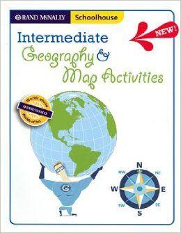 intermediate geography map activities rand mcnally schoolhouse rand mcnally and company